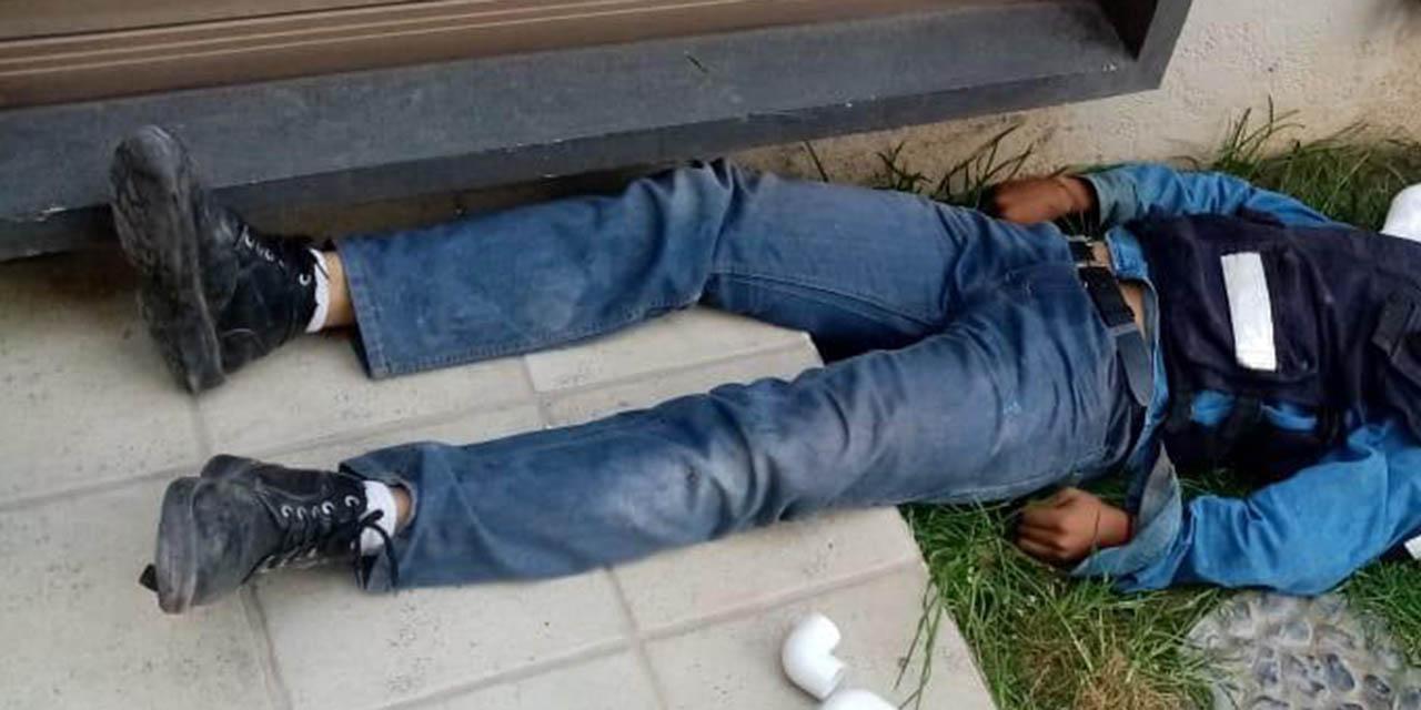 Trabajador pierde la vida tras caer de segundo piso | El Imparcial de Oaxaca