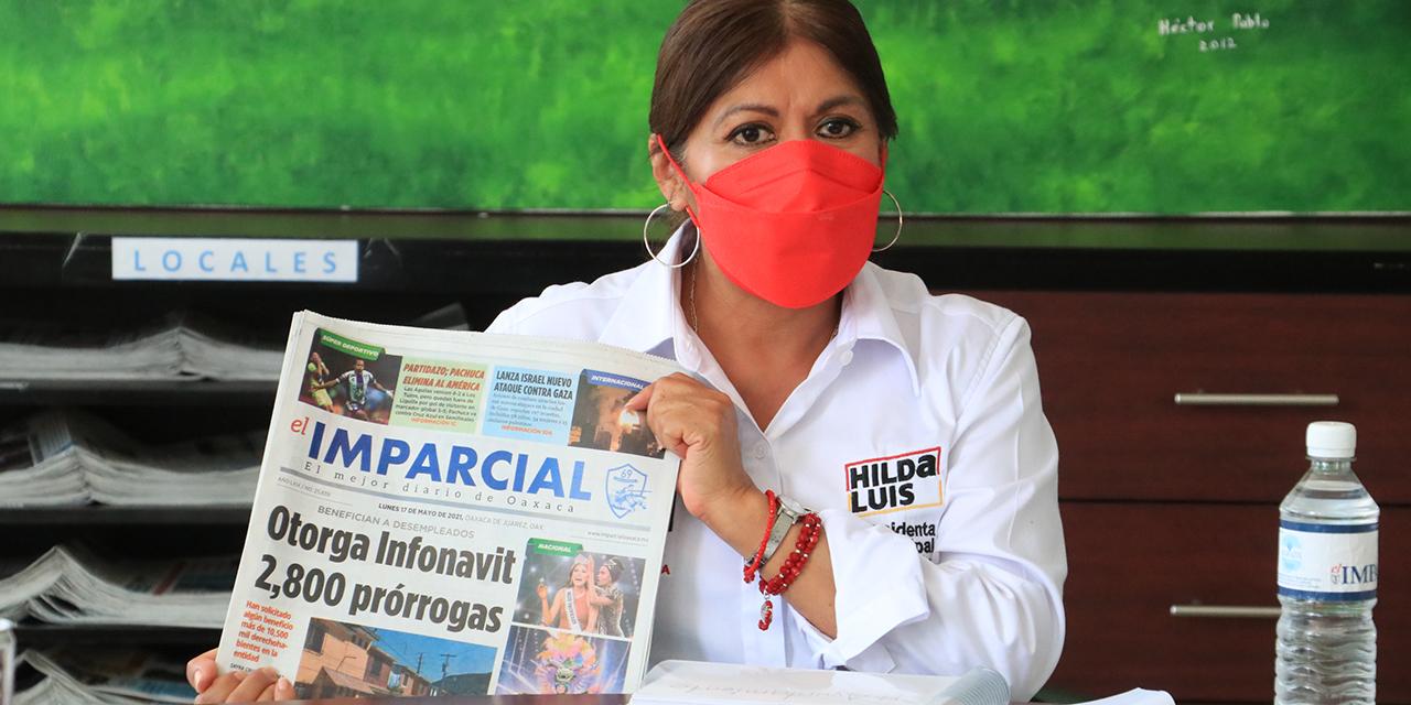 Voluntad política para solucionar ambulantaje: Pérez Luis   El Imparcial de Oaxaca