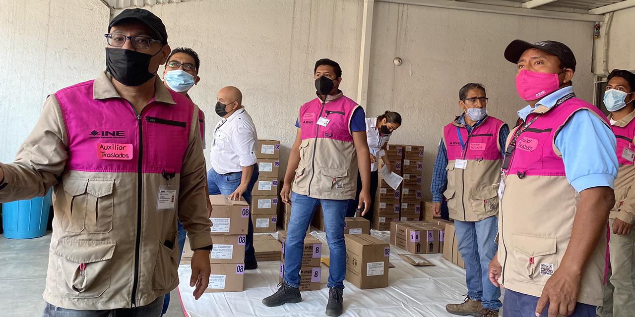 Distribuyen boletas para elección de diputados federales | El Imparcial de Oaxaca