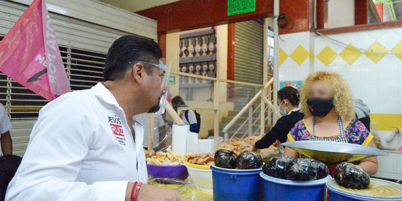 Con el consumo local reactivamos la economía de Oaxaca de Juárez: Jesús Ruíz Olmedo | El Imparcial de Oaxaca