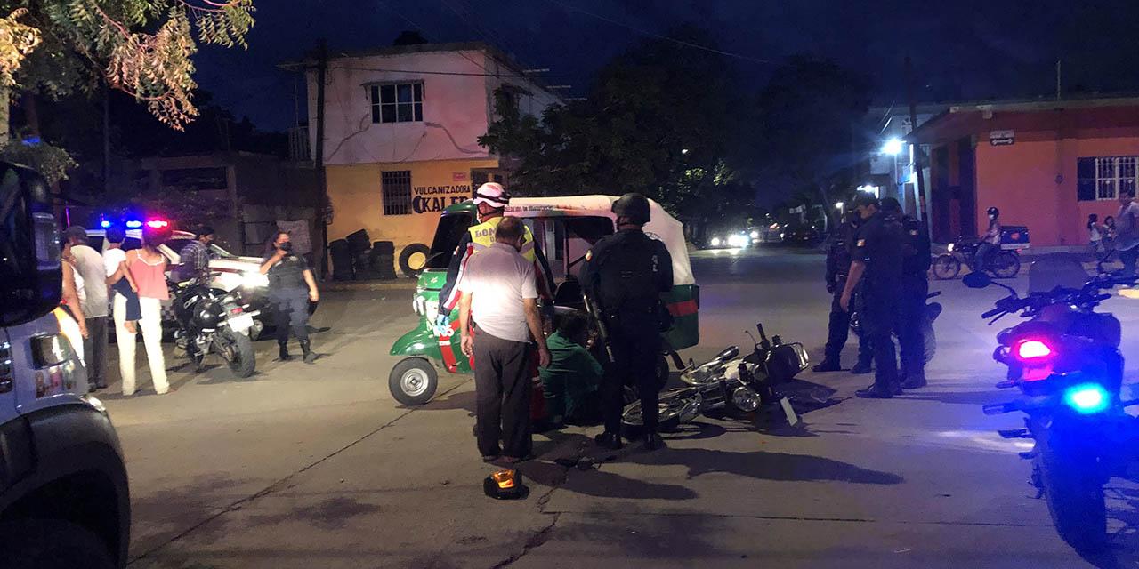 Ebrio motociclista ocasiona choque en Juchitán | El Imparcial de Oaxaca