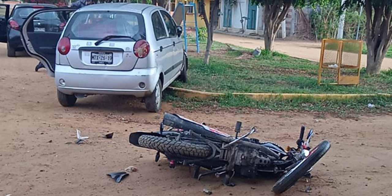 Arrollan a motociclista en la Colonia Azteca   El Imparcial de Oaxaca