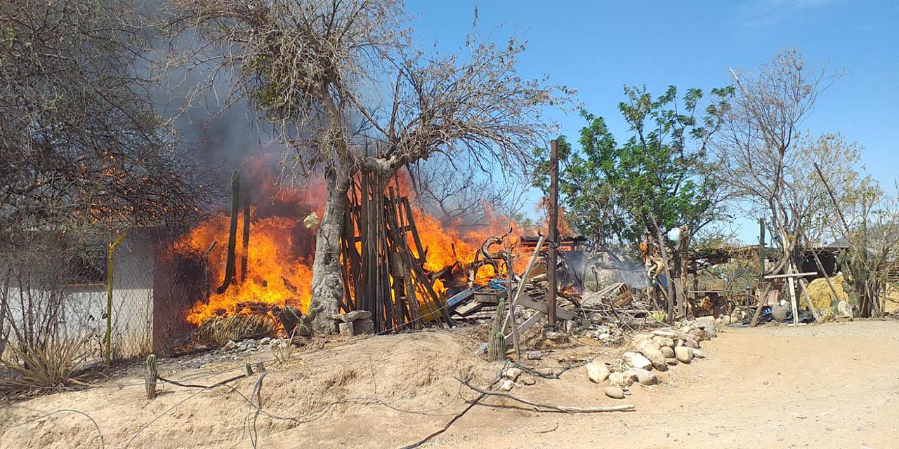 Se quema domicilio en Miahuatlán   El Imparcial de Oaxaca