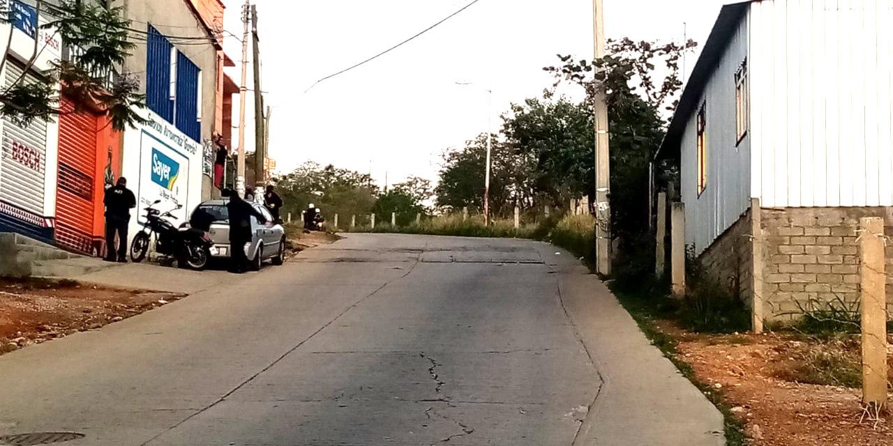 Motociclista muere tras derrapar en la Colonia Manuel Sabino Crespo   El Imparcial de Oaxaca