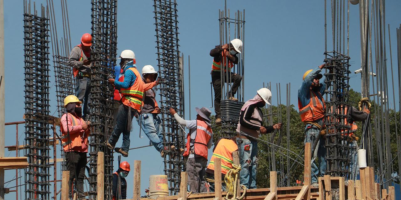 Pierde la construcción 72% de empleos en 12 años | El Imparcial de Oaxaca