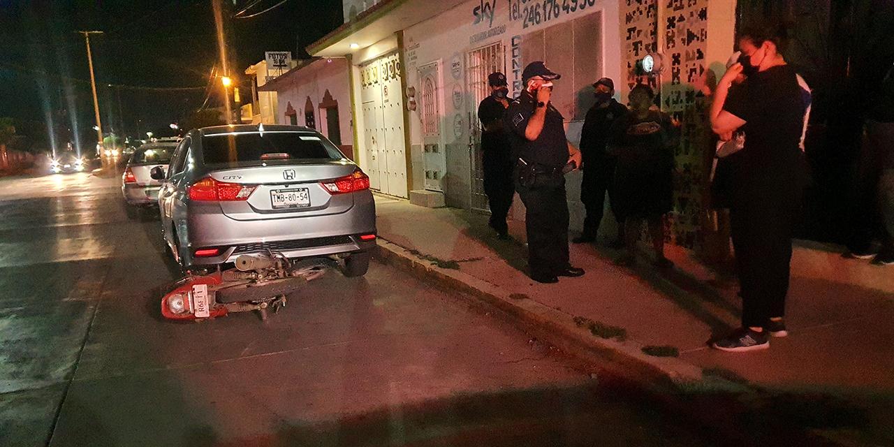 Joven motociclista derrapa en Ixtepec | El Imparcial de Oaxaca
