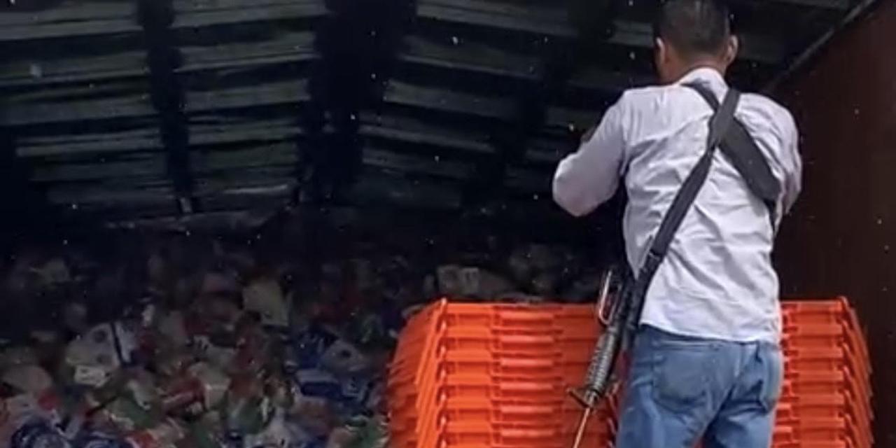 Aseguran camión con despensas para compra de votos en el Istmo | El Imparcial de Oaxaca