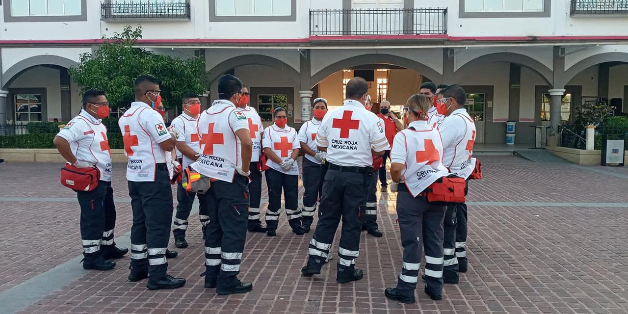 Evalúan a rescatistas de la Cruz Roja en Pinotepa   El Imparcial de Oaxaca