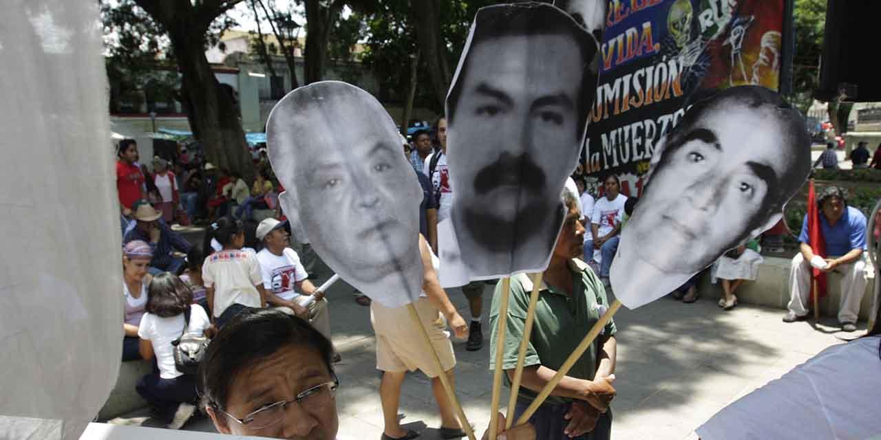 Segob hermética a 14 años de desaparición de eperristas   El Imparcial de Oaxaca