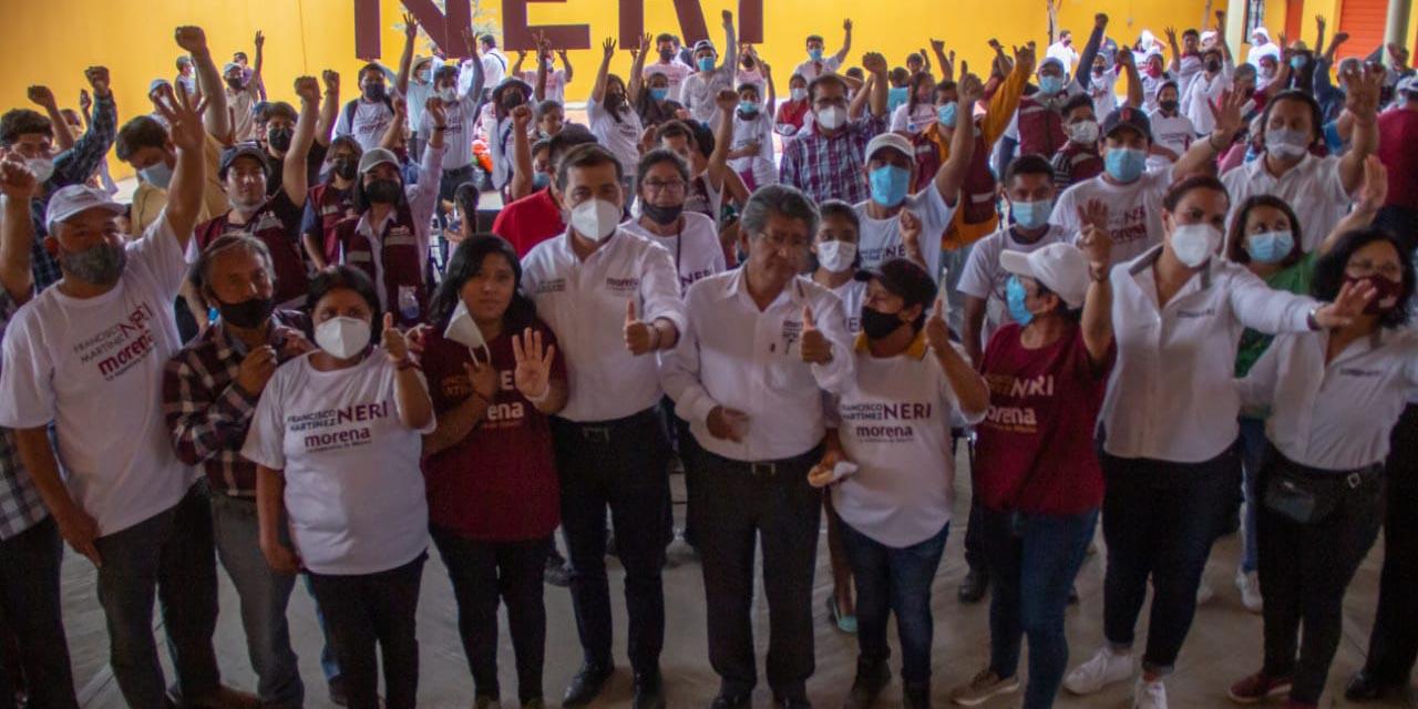 Augura Trinidad de Viguera triunfo contundente de Neri | El Imparcial de Oaxaca