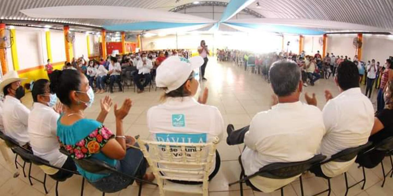 Candidato de MC y militantes de Morena declinan en favor de Panal   El Imparcial de Oaxaca