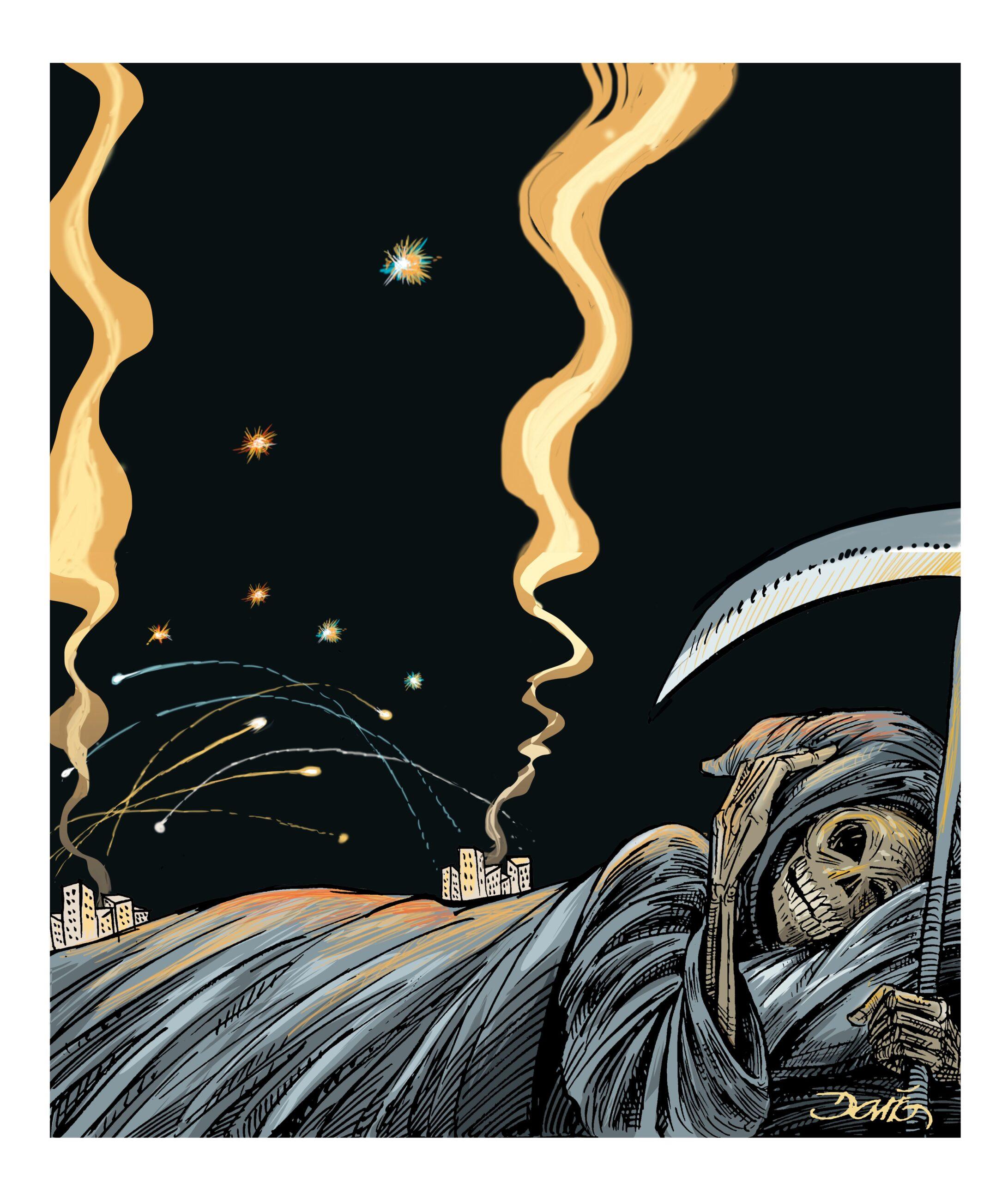 Noches de guerra | El Imparcial de Oaxaca