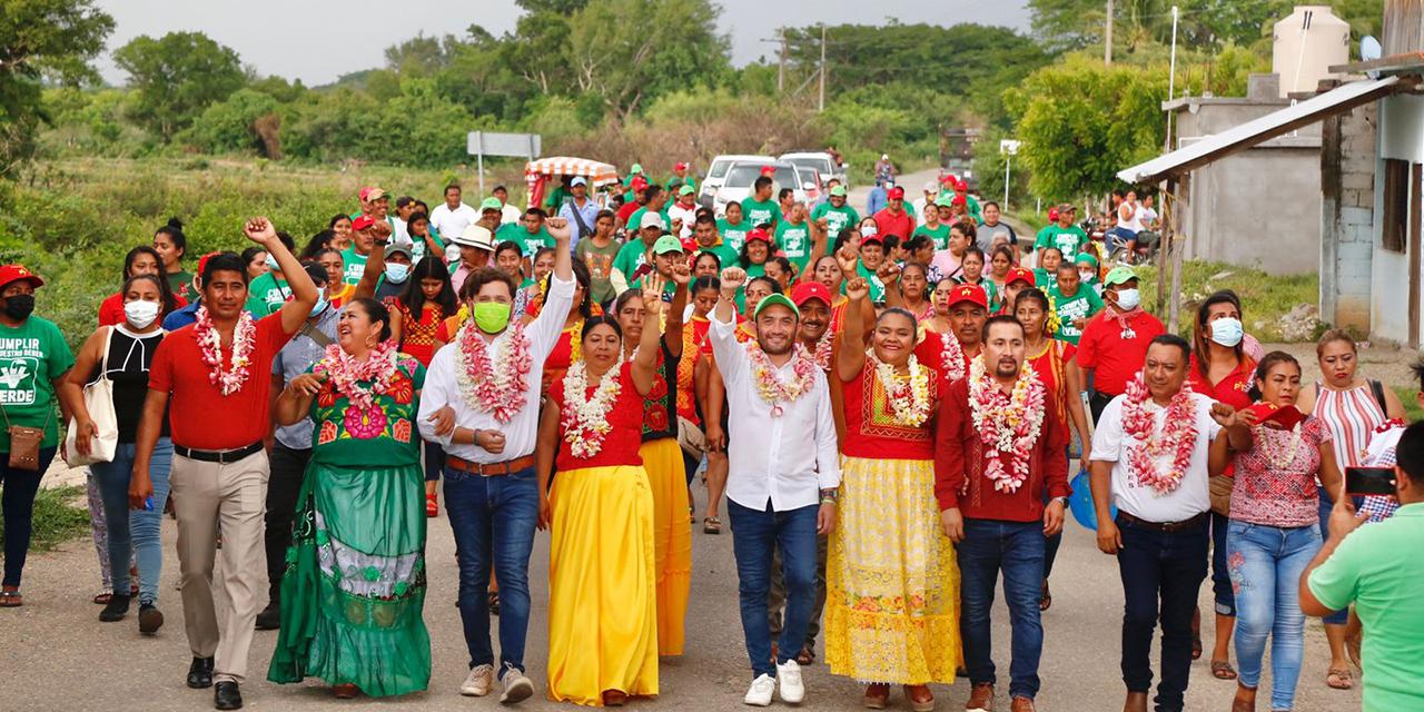 Huaves confían en Pepe Estefan para convertirse en su diputado federal   El Imparcial de Oaxaca