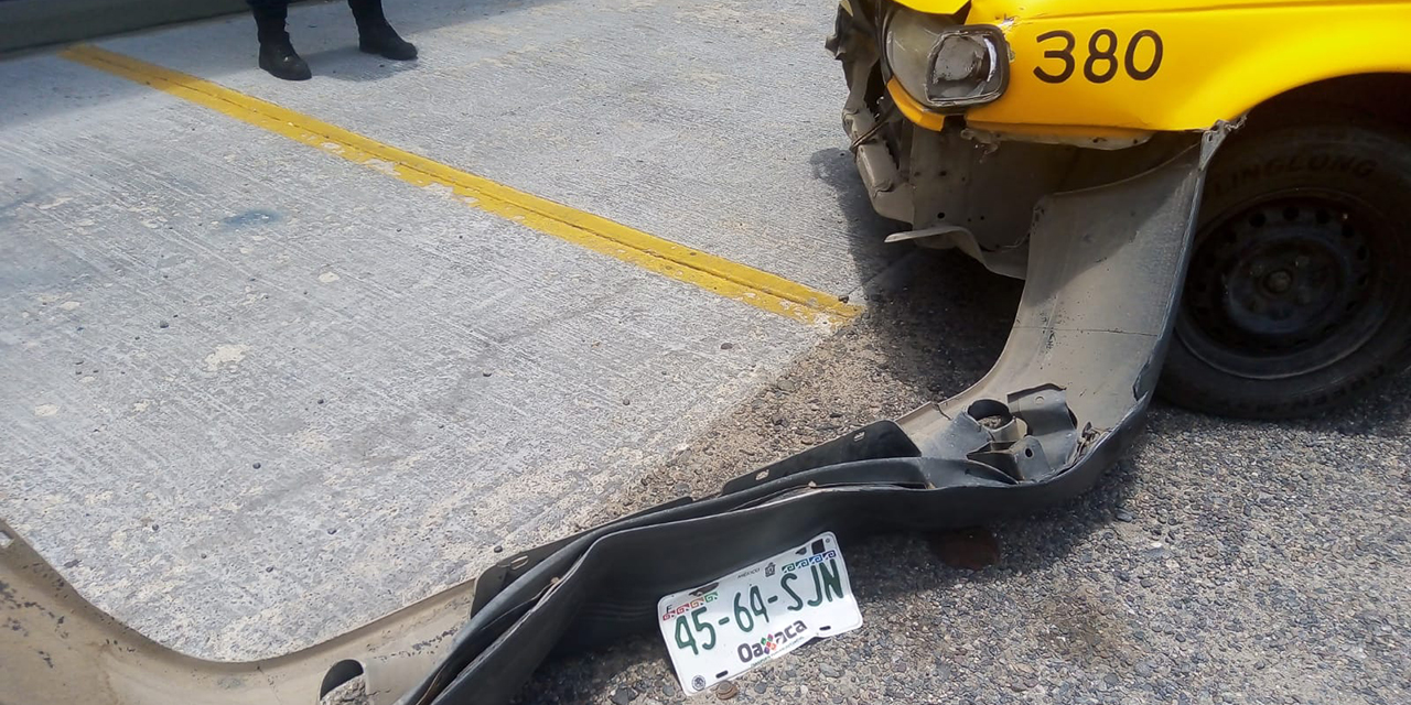 Choque múltiple en Salina Cruz deja 3 mujeres lesionadas | El Imparcial de Oaxaca