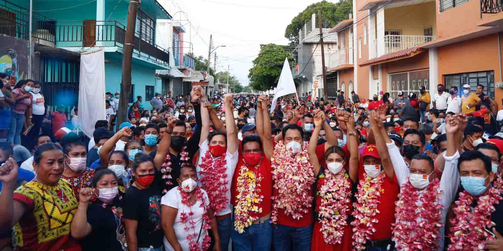 Ofrece Estefan Gillessen recuperación económica a productores | El Imparcial de Oaxaca