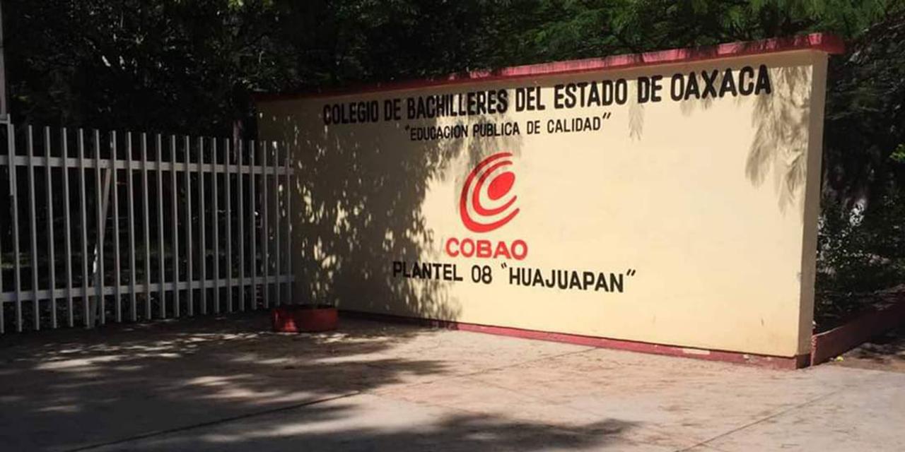 Examen de admisión al Cobao 08 de Huajuapan de León será en línea   El Imparcial de Oaxaca