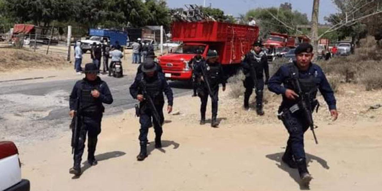Policía realiza despliegue para prevenir conflicto en la Central de Abasto   El Imparcial de Oaxaca