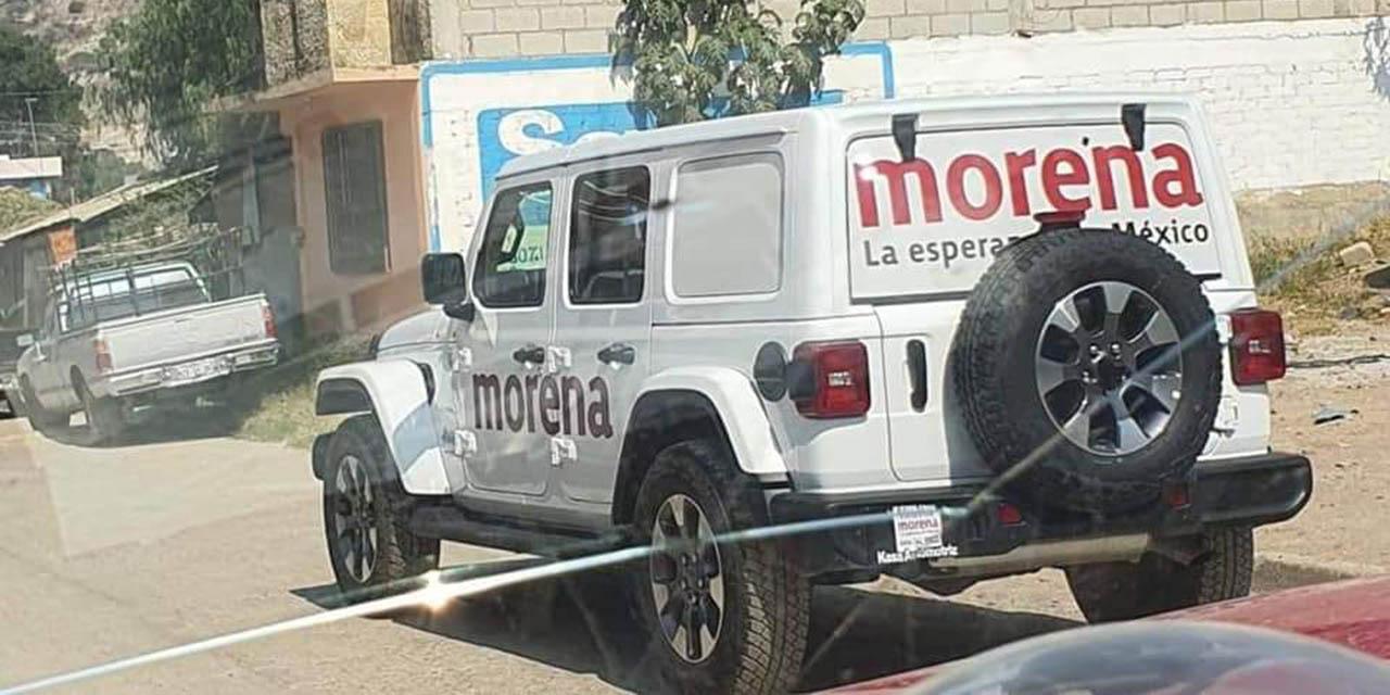 Indigna uso de camionetas de lujo para campañas en zona indígena   El Imparcial de Oaxaca