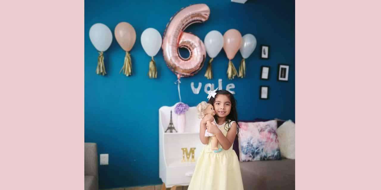 Celebran con cariño a Valentina por su cumpleaños | El Imparcial de Oaxaca