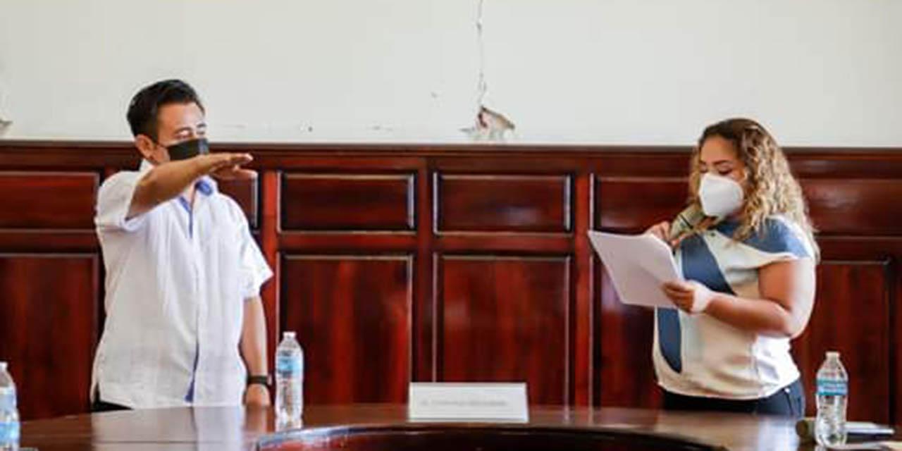 Suple Francisco Matus a alcaldesa de Tehuantepec | El Imparcial de Oaxaca