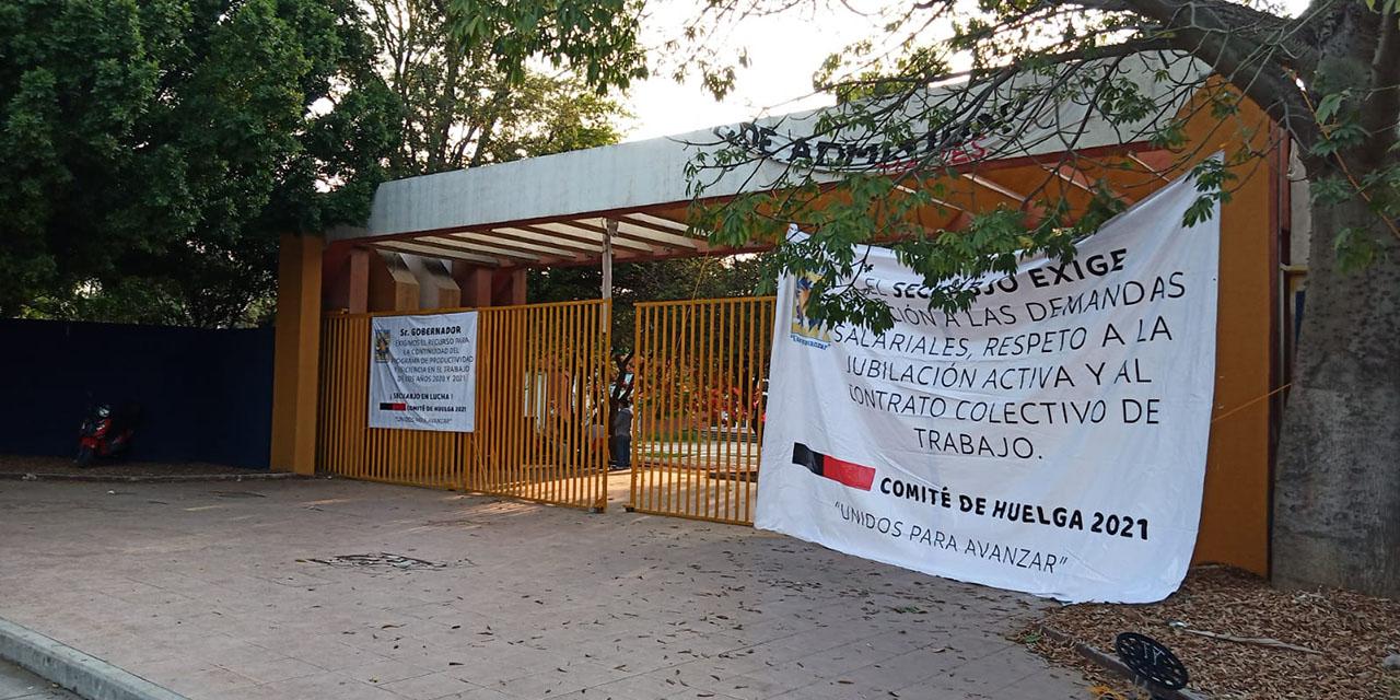 Toma SECUABJO ciudad universitaria   El Imparcial de Oaxaca