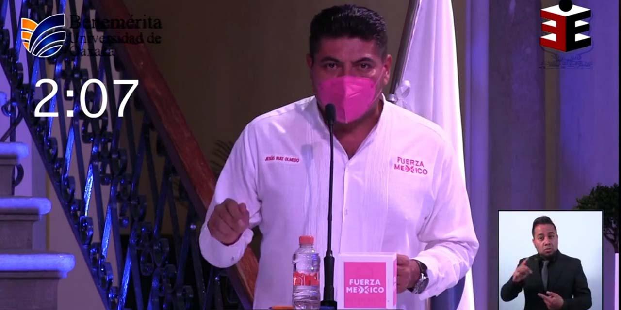 Con contundencia gana Jesús Ruiz Olmedo el debate entre candidatos a la Presidencia Municipal de Oaxaca de Juárez   El Imparcial de Oaxaca