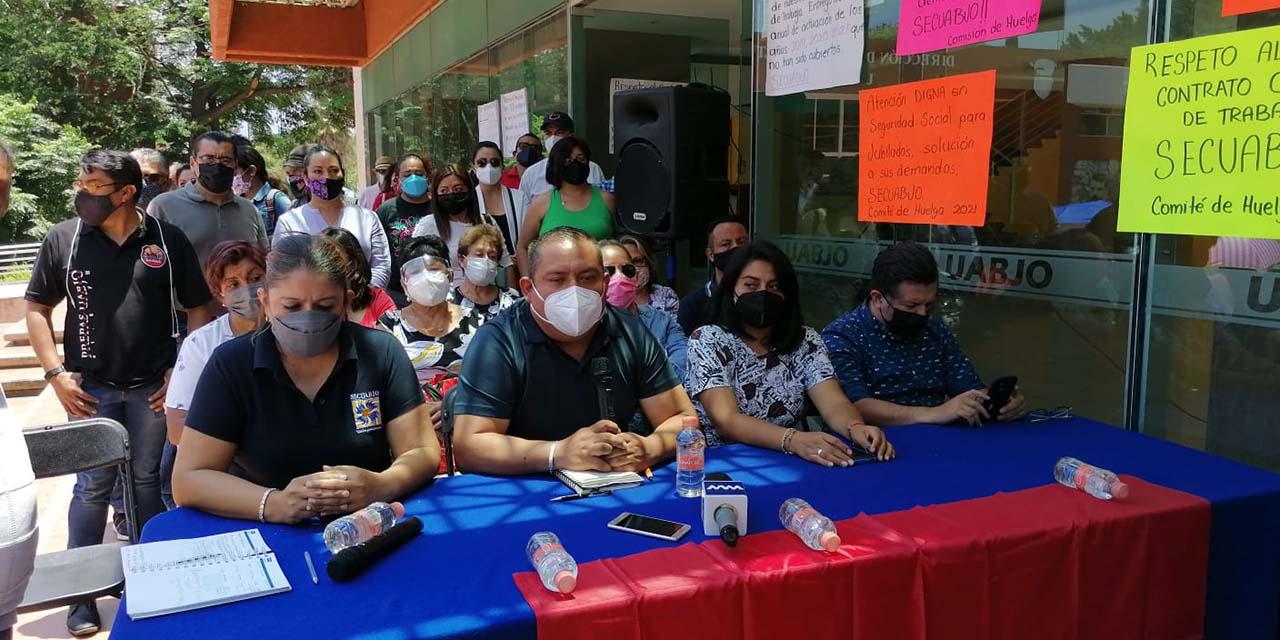 Alista SECUABJO huelga en la máxima casa de estudios   El Imparcial de Oaxaca