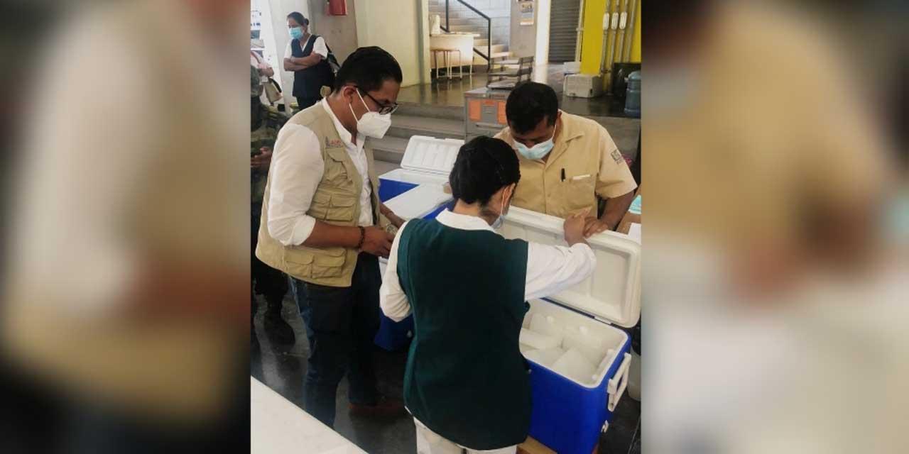Llega el resto de vacunas para personas de 50 a 59 años de la Mixteca | El Imparcial de Oaxaca