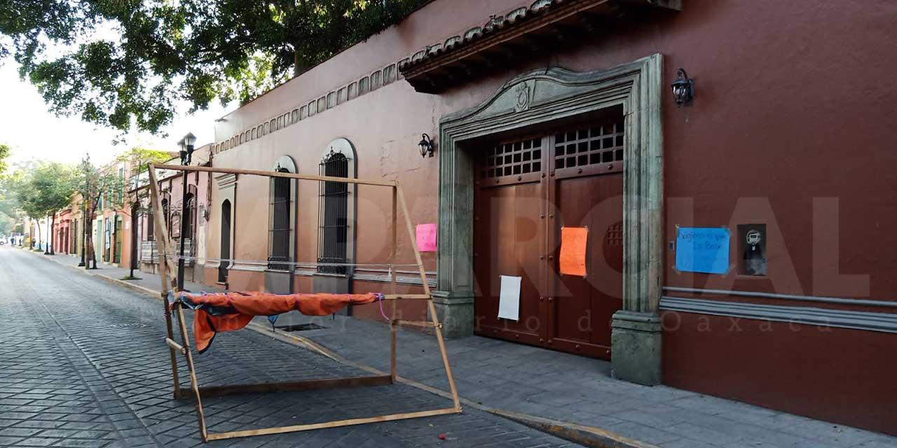 Cumple 24 horas bloqueo de atletas paralímpicos en Casa Oficial, Oaxaca | El Imparcial de Oaxaca