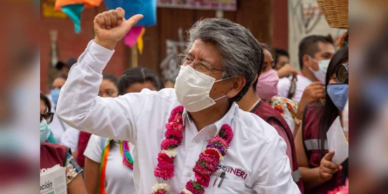 Arropa San Juan Chapultepec a Francisco Martínez Neri | El Imparcial de Oaxaca