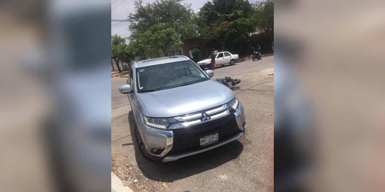 Hallan vehículo que embistió a motociclista | El Imparcial de Oaxaca