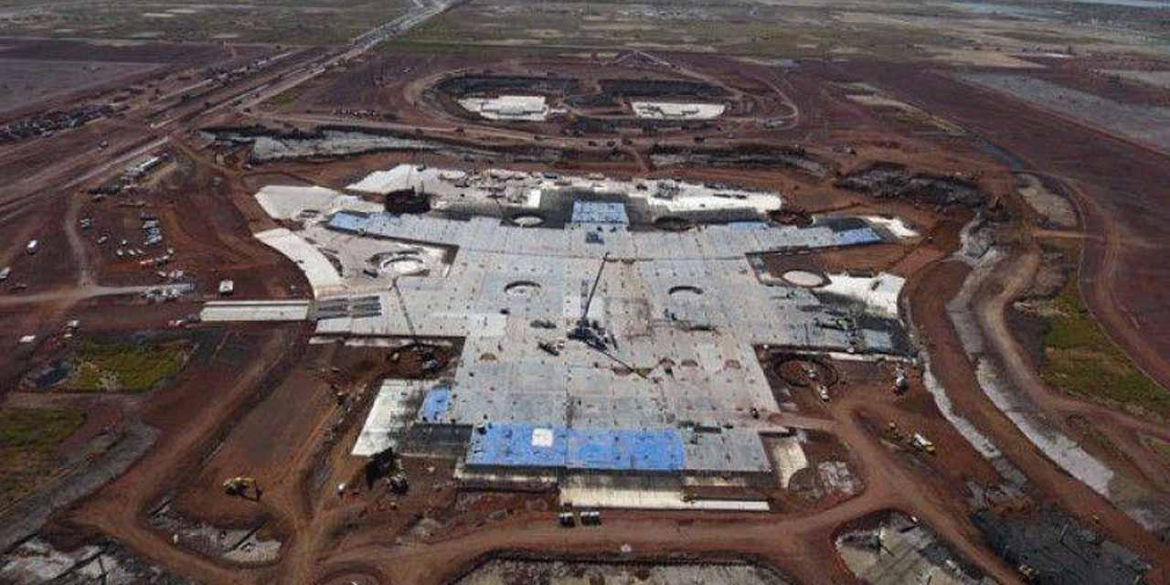 Aeropuerto de Santa Lucía en un 60% de avance en su construcción   El Imparcial de Oaxaca