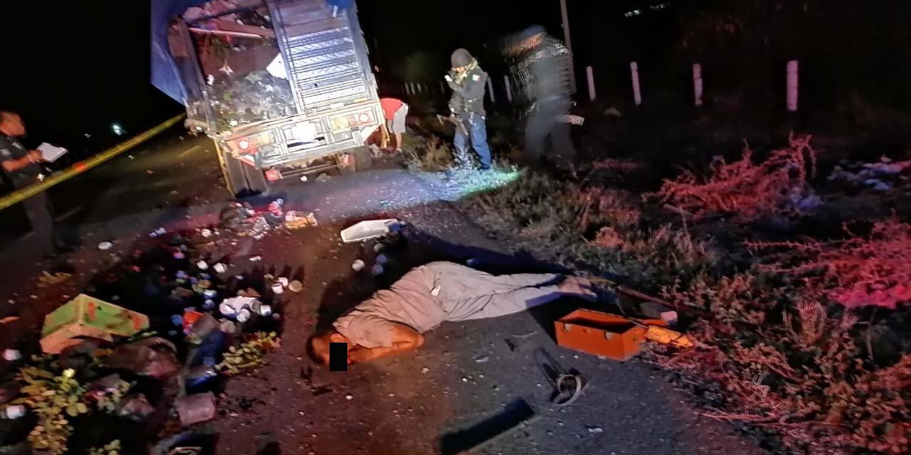 Muere atropellado cuando cambiaba una llanta de la camioneta en que viajaba en el crucero de Tanivet