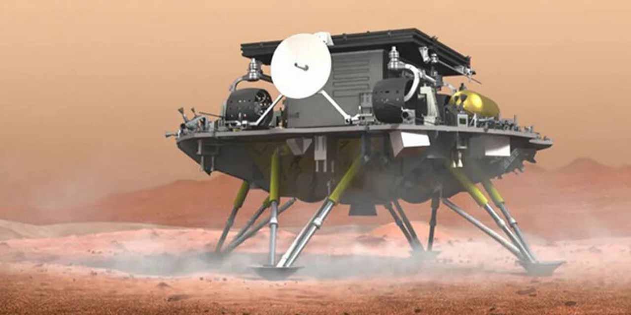 China llega al planeta rojo con 'Tianwen-1' | El Imparcial de Oaxaca