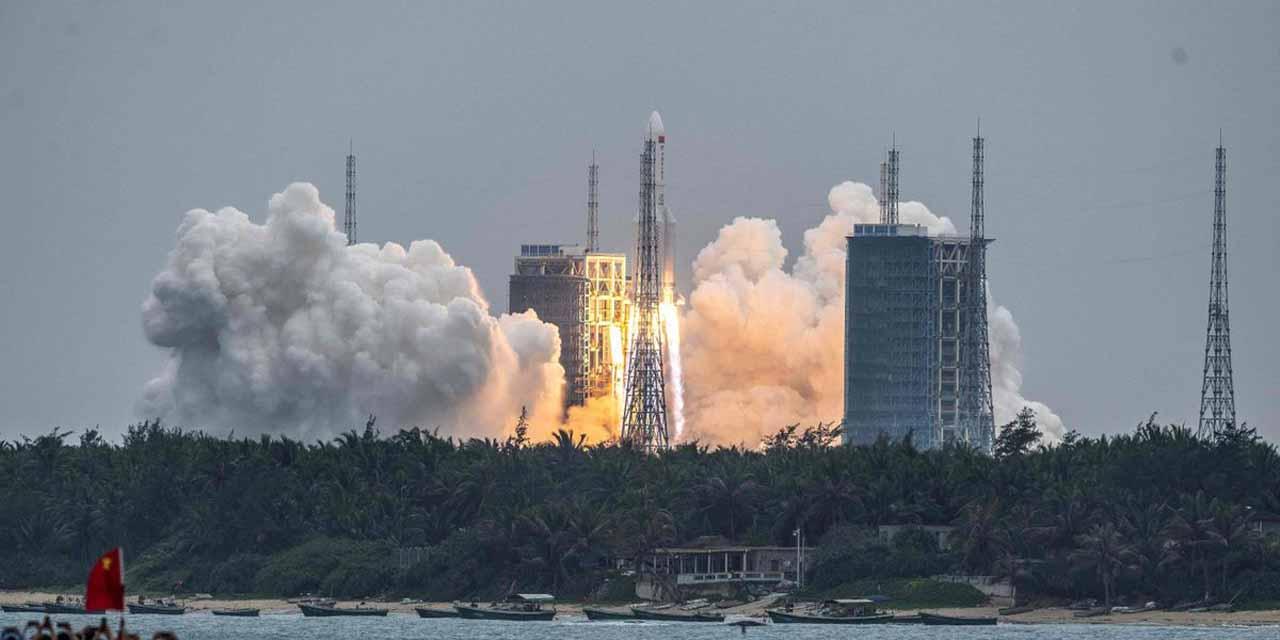 Cohete chino caerá a esta hora, según cálculos de rastreo | El Imparcial de Oaxaca