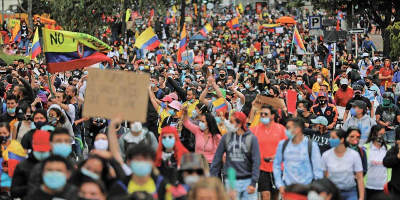 Jornadas de protestas dejan 24 muertos en Colombia | El Imparcial de Oaxaca