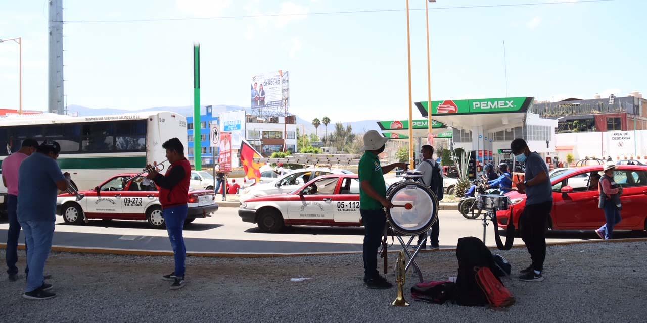 Precaridad laboral en cruceros citadinos | El Imparcial de Oaxaca