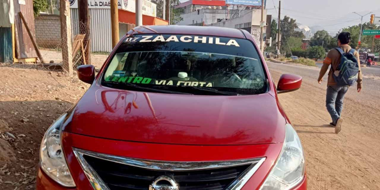 Desaparece taxista en Zaachila | El Imparcial de Oaxaca