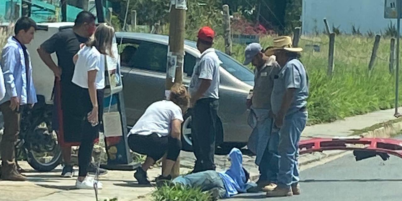 Atropella a una persona en Calzada a San Felipe | El Imparcial de Oaxaca