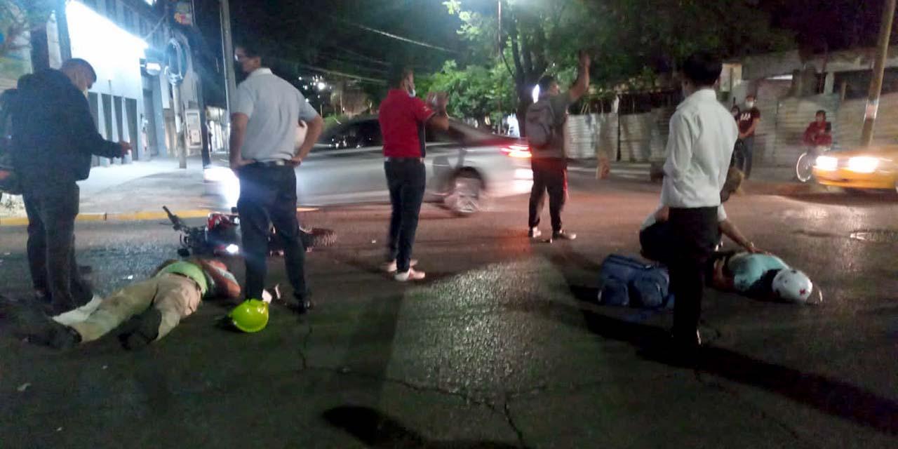 Atropellan a paramédicos | El Imparcial de Oaxaca