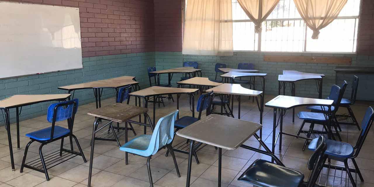 'Será complicado porque algunos maestros ya no van a regresar, murieron'; Cristina Mendoza | El Imparcial de Oaxaca