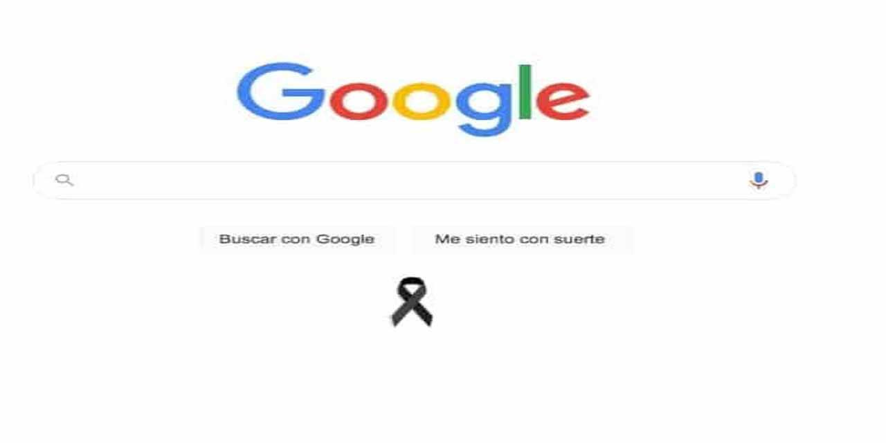 Google pone moño negro tras el accidente en Línea 12 del Metro | El Imparcial de Oaxaca
