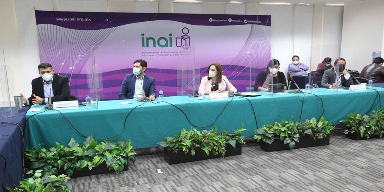 INAI reprueba violencia de género contra la presidenta del órgano de transparencia   El Imparcial de Oaxaca