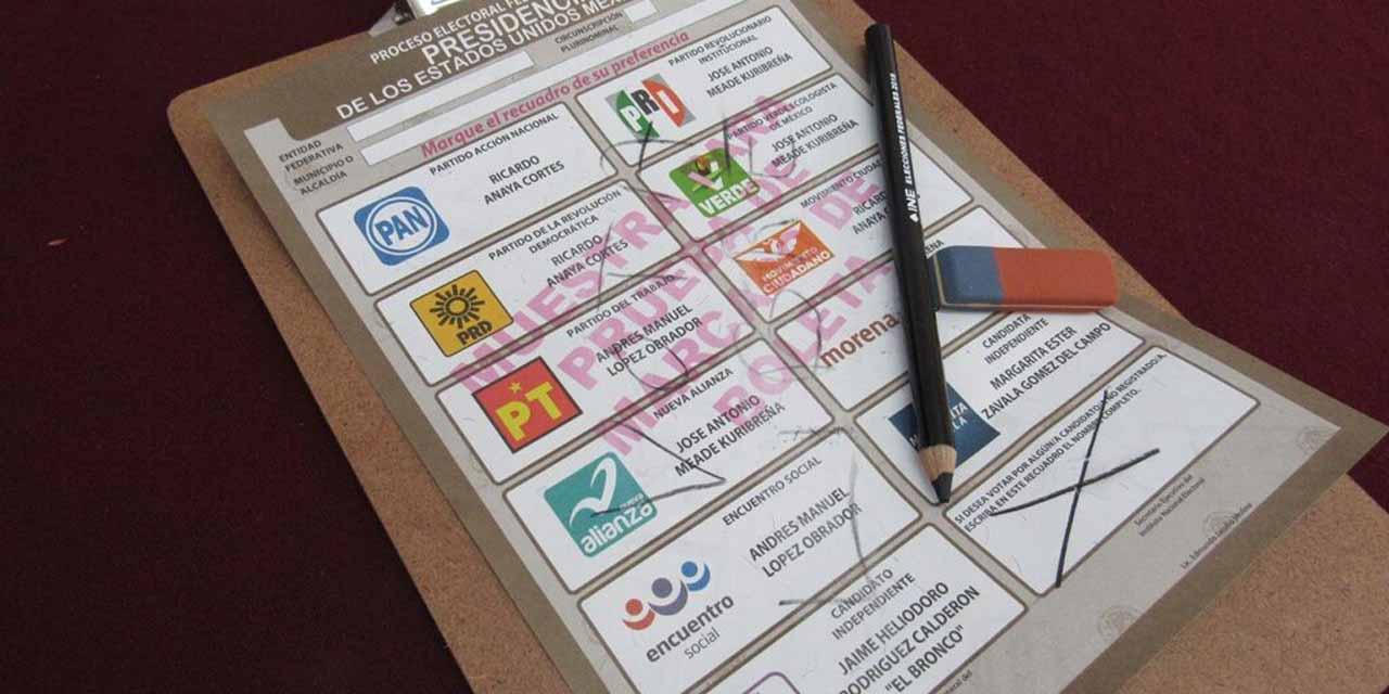 Tinta de las 'plumas' electorales se borra, ¿verdad o mito? | El Imparcial de Oaxaca