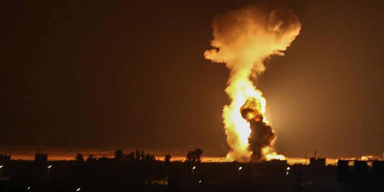 En Jerusalén: Hamas e Israel protagonizan combate con bombas u cohetes   El Imparcial de Oaxaca