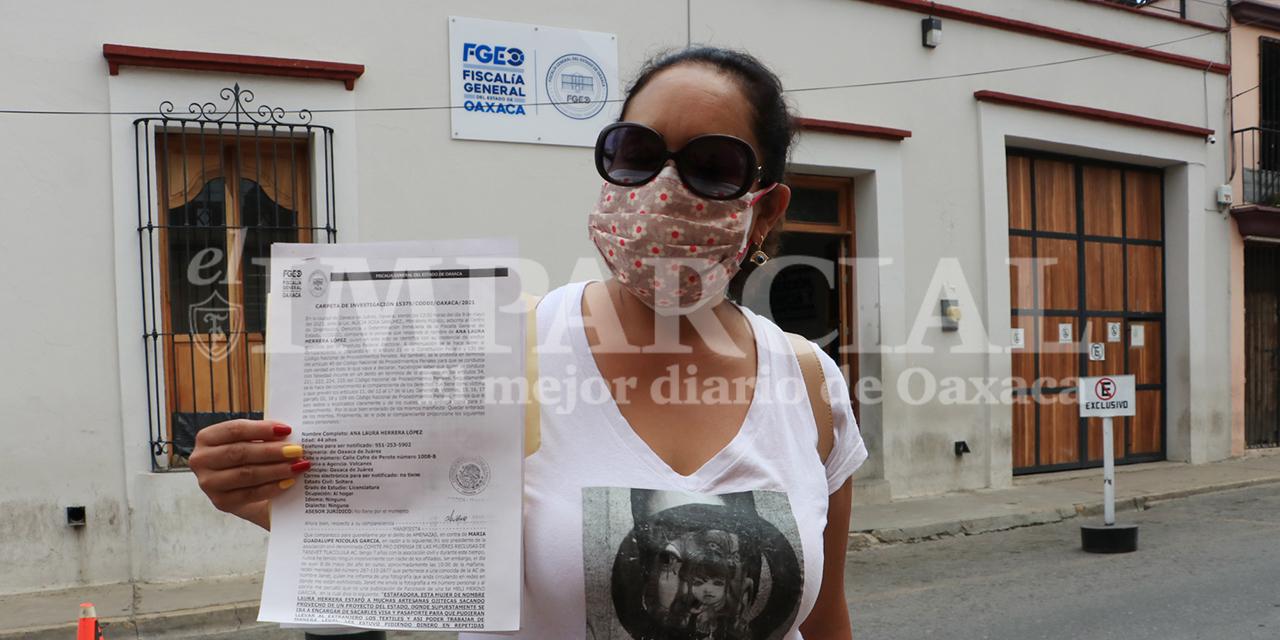Amenazan y difaman a mujer presidente del Comité Prodefensa de las Mujeres Reclusas de Tanivet   El Imparcial de Oaxaca