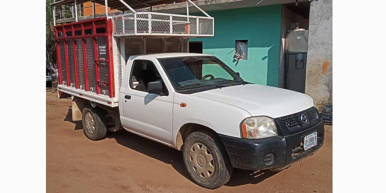 Se paseaba con una camioneta robada   El Imparcial de Oaxaca