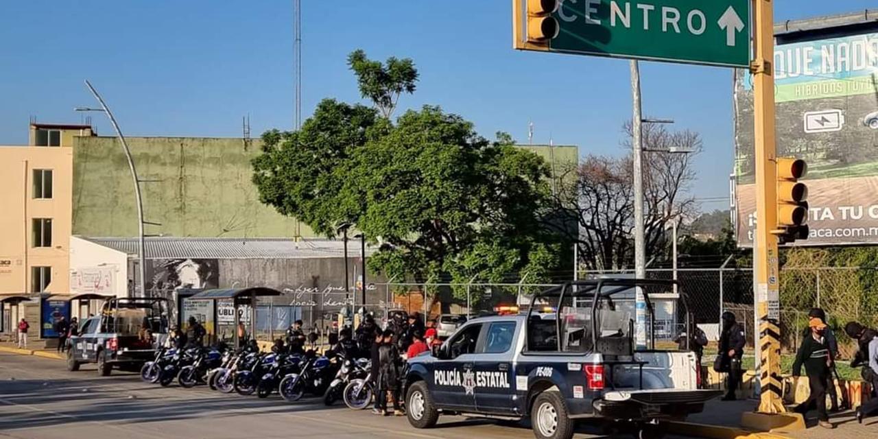 Detienen a supuestos normalistas por actividades vandálicas al norte de la capital oaxaqueña   El Imparcial de Oaxaca