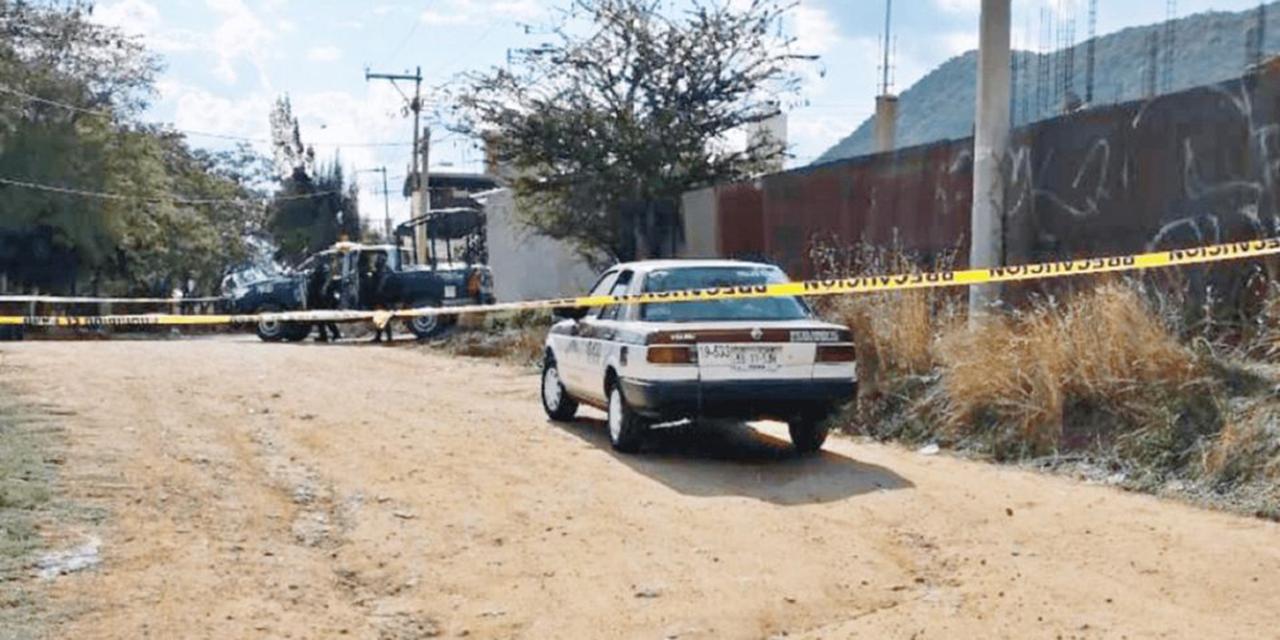 Indagan homicidio de taxista en Xoxocotlán | El Imparcial de Oaxaca