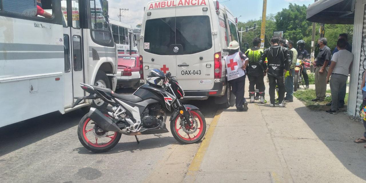 Chocan motociclistas en una rodada en Oaxaca | El Imparcial de Oaxaca
